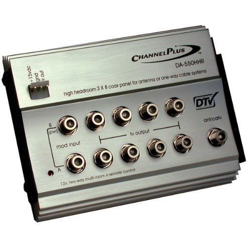 CHANNEL PLUS DA-550HHR HDTV Distribution Panel for Off-Air Antenna -by-CHANNEL PLUS by ChannelPlus