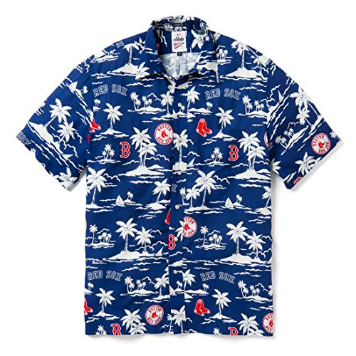 - Reyn Spooner Men's Boston Red Sox MLB Classic Fit Hawaiian Shirt, Vintage 2019, XX-Large