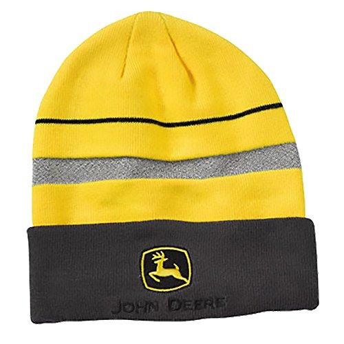John Deere Construction Reflective Knit Cap