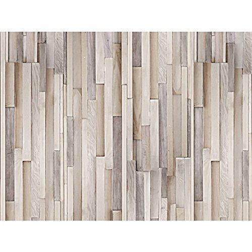VOX Bathroom Wall Cladding PVC Panels Motivo Pezzo Wood Effect 2.7m X 250mm (Pack Of Four