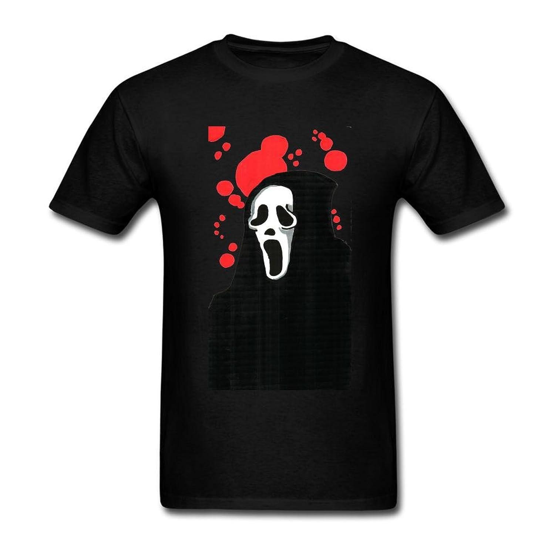 FQYPMC Man 100% Cotton Scream Fan Art Ghostface Tshirts