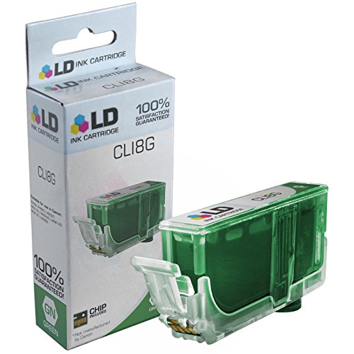 LD © Compatible Replacement for Canon CLI8G Ink Cartridge Includes: 1 Green 0627B002