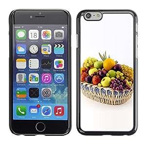 Paccase / SLIM PC / Aliminium Casa Carcasa Funda Case Cover - Fruit White Grapes - Apple Iphone 6 Plus 5.5