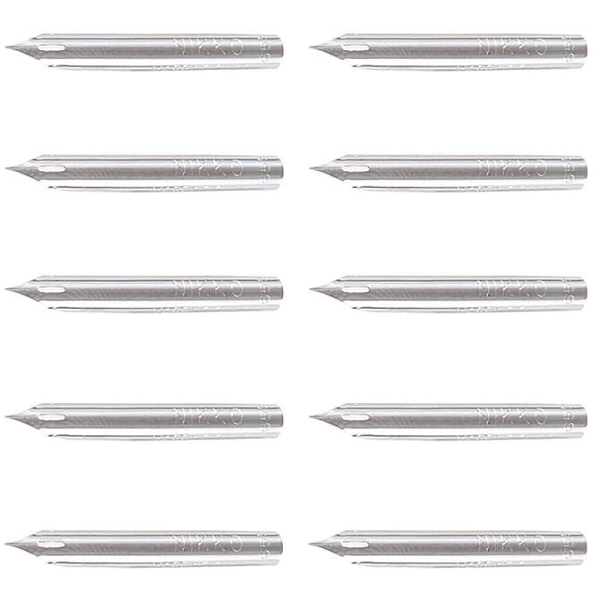 10pc Nikko Manga Pen Nib Maru Pen