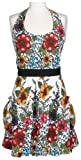 DII India Flower Vintage Apron