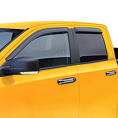 LT Sport Custom Fit 00-06 TOYOTA TUNDRA Side Window Visor Deflector 4pcs (Side Deflector Weather Window)