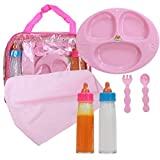 Baby Doll Feeding Care Set, Magic Juice & Magic Milk Bottles in A Bag