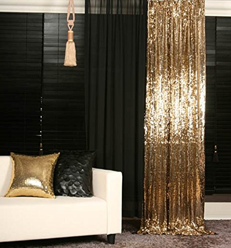 Amazon.com: QueenDream 20ft*10ft Gold Shimmer Sequin Fabric Photography  Backdrop Sequin Curtain for Wedding/ Party: Home & Kitchen - Amazon.com: QueenDream 20ft*10ft Gold Shimmer Sequin Fabric