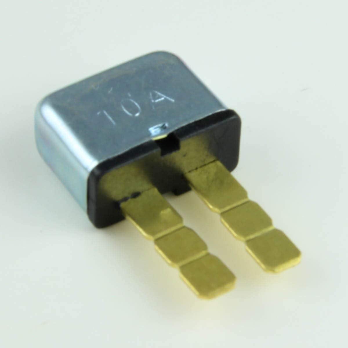 10 AMP Mini Fuse Blade Reset Circuit Breaker 12V 1