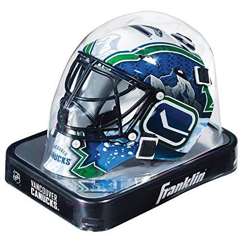 Franklin Sports NHL League Logo Vancouver Canucks Mini Goalie Mask