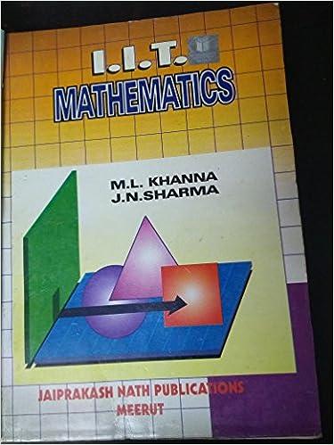 Ml Khanna Mathematics Ebook