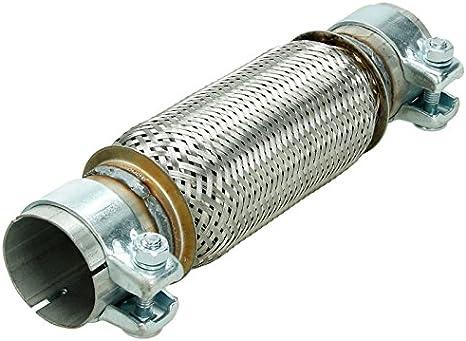 60x150 Flexrohr Flexstück mit Rohrstücken Montage ohne Schweißen Rohr Interlock