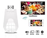 MiraScreen Wireless Display Adapter, 1080P WiFi Display dongle HDMI Dongle Support Airplay(iOS) Miracast(Android) DLNA