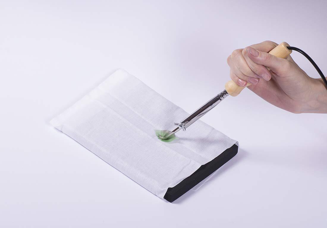 Medium 8x6x1 Hard, Medium, Soft Japanese Pads Sponges for Silk and Fabric Flowers Making