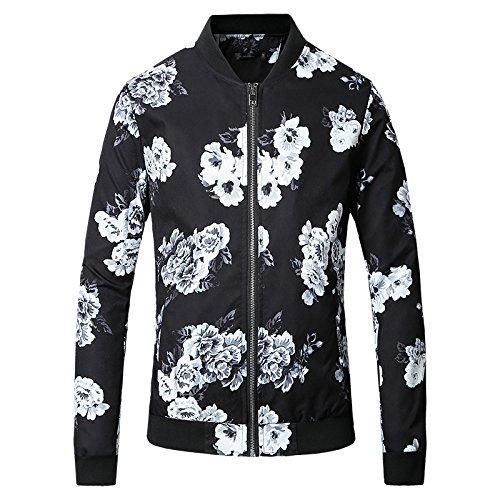 Camicia Casual Timbro Uomini Casuale E Versatile Giacca Elegante In Un Gran Numero Di Serie Nero L