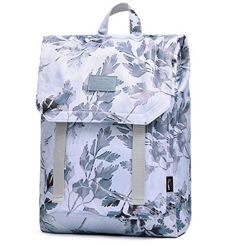 LAN BACK Schulrucksack, schlanke Laptop-Rucksack Frauen, Mode Upgraded Version, Anti-Diebstahl, wasserdicht, tragbare Freizeit-Rucksack, (Maple Leaf Style)