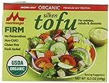 Morinu Organic Firm Tofu, Silken, 12.3-Ounce Packages (Pack of 6) - Gluten Free