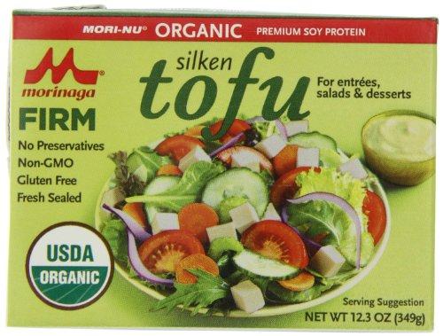 Morinu Organic Firm Tofu, Silken, 12.3-Ounce Packages (Pack of 12) ( Value Bulk Multi-pack)