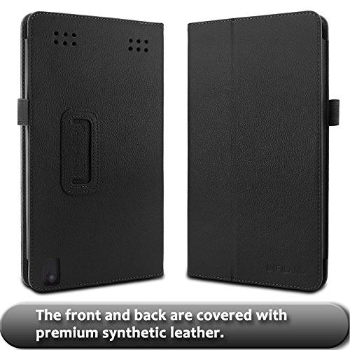 INFILAND Premium PU Leather Case Cover for DigiLand 10 1