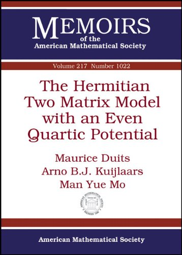 The Hermitian Two Matrix Model with an Even Quartic Potential (Memoirs of the American Mathematical Society) ebook