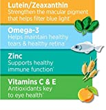 Ocuvite Adult 50+ Vitamin & Mineral Supplement with Lutein, Zeaxanthin, and Omega-3, Soft Gels