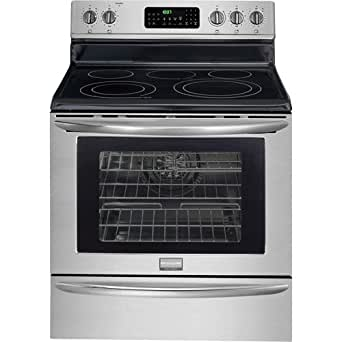 "Frigidaire FGEF3055MF Gallery 30"" Stainless Steel Electric Smoothtop Range - Convection"
