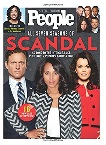7f5e973cee81 PEOPLE All Seven Seasons of Scandal: So Long to the Intrigue, Lust, Plot  Twists, Popcorn & Olivia Pope Single Issue Magazine – February 16, 2018