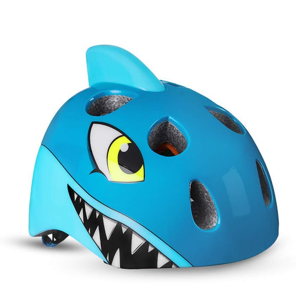 子供用ヘルメット恐竜/ユニコーン/魚/虎/鮫/ワニ柄(頭囲5257cm) (Color : Pattern-06)   B07PZ9LX8S