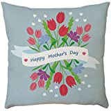 Mother's Pillow case,EOWEO Happy Mother's Day Sofa Bed Home Decoration Festival Pillow Case Cushion Cover(43cm×43cm,A)
