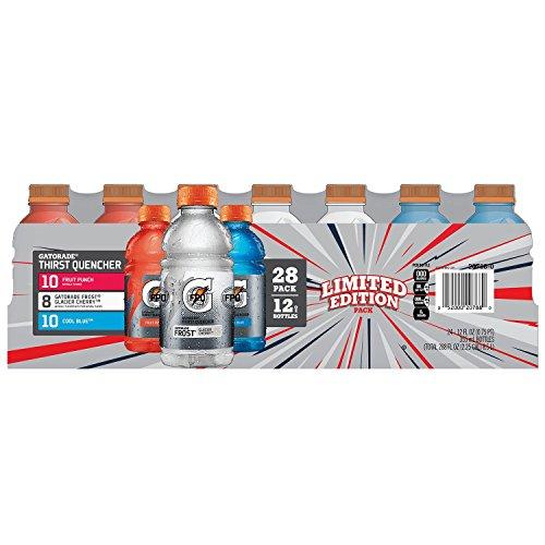Gatorade Liberty Variety Pack, 28 12 Oz Bottles (Oz Water Bottle Gatorade 12)