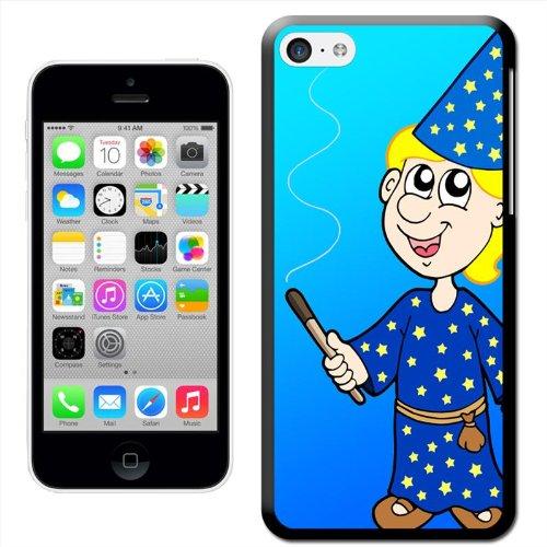 Fancy A Snuggle 'Blonde Magician exploitation des cheveux Magic Wand Coque arrière rigide à clipser pour Apple iPhone 5C