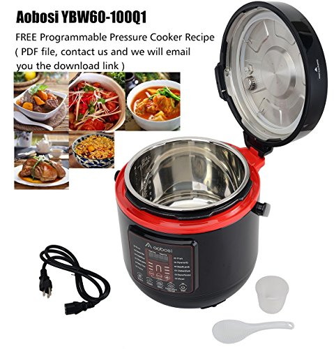 Aobosi 6qt 8 in 1multi functional electric pressure cookerslow aobosi forumfinder Choice Image