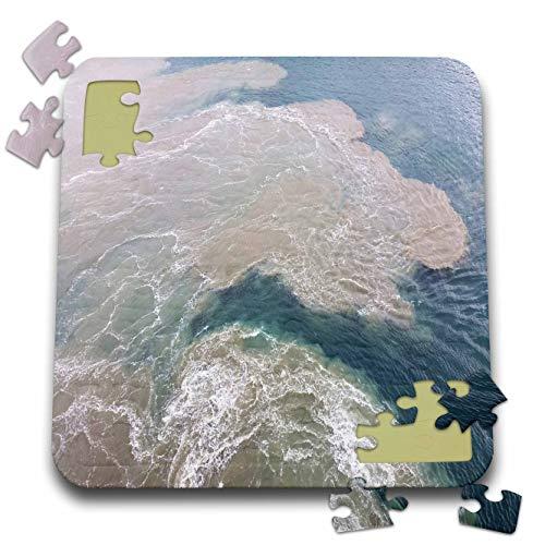 (3dRose Lens Art by Florene - Water Art - Image of Sandbar at Captiva Island Florida - 10x10 Inch Puzzle (pzl_308274_2))