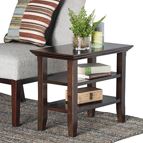 Simpli Home Acadian Solid Wood Narrow Side Table, Tobacco Brown by Simpli Home (Image #1)