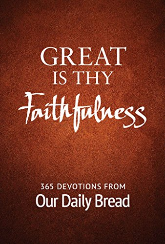 our daily bread devotional book - 5