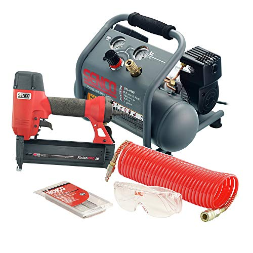 SENCO PC1343 Micro Pinner & Air Compressor Combo Kit