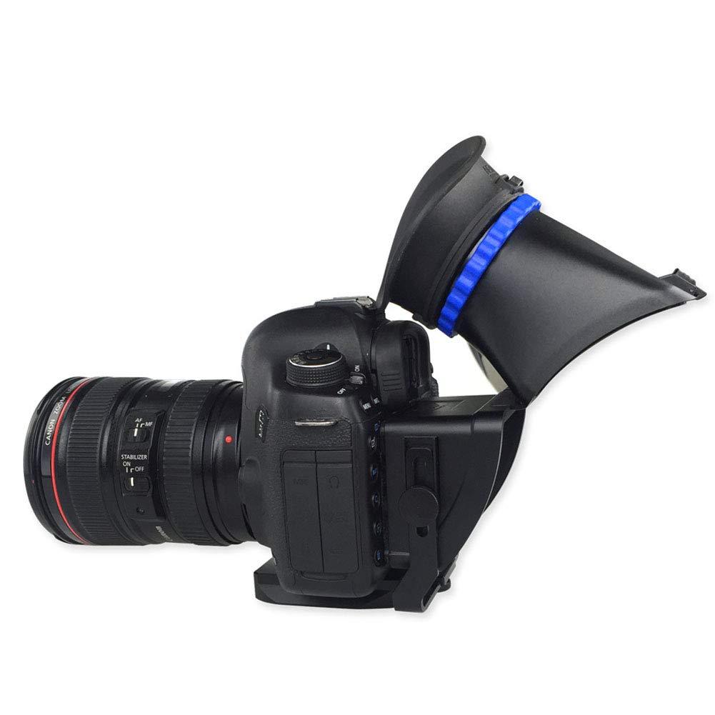 strumento professionale antipolvere da 7,6 cm per esterni Mirino LCD per riparazioni parti antiurto LNIMIKIY per Canon 5D2 5D3 facile da installare ingrandimento stabile
