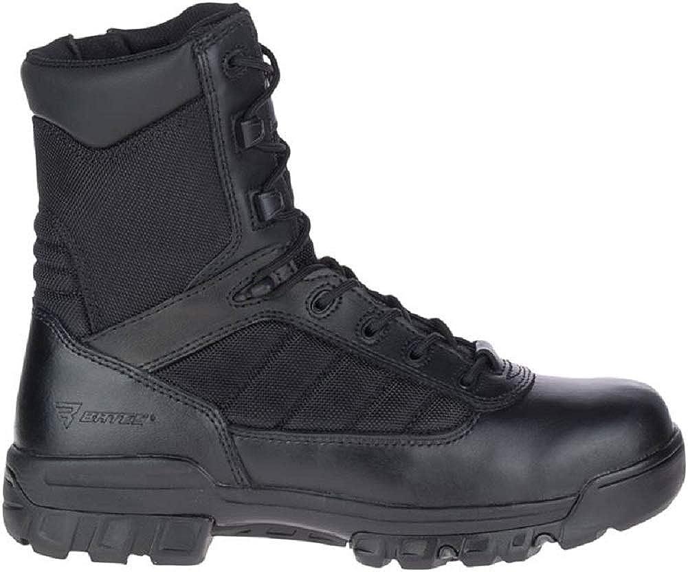 Bates Mens 5 Tactical Sport Side Zip Industrial Shoe