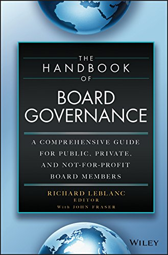 850 Circuit Board - The Handbook of Board Governance: A Comprehensive Guide for Public, Private, and Not-for-Profit Board Members