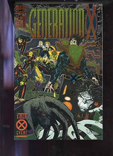 1994 Marvel #1 Generation X X-men Event Comic Book Direct Edition Number One