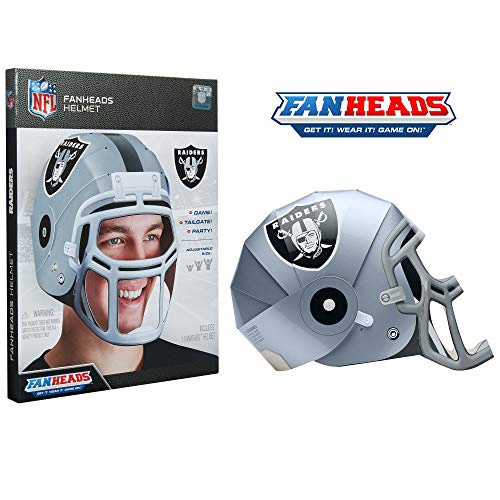 FanHeads - Wearable NFL Replica Helmets - Pick Your Team!, Oakland Raiders
