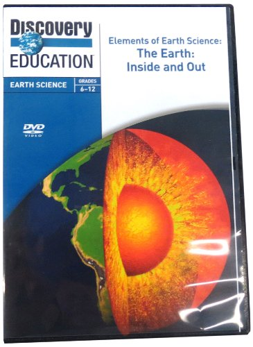 Discovery Education Earth Science Dvd  Elements Of Earth Science  The Earth  Inside And Out   56554