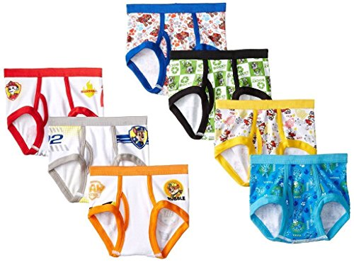 Trim Area License (Handcraft Little Boys' Toddler Paw Patrol  Brief (Pack of 7), Assorted, 4T)