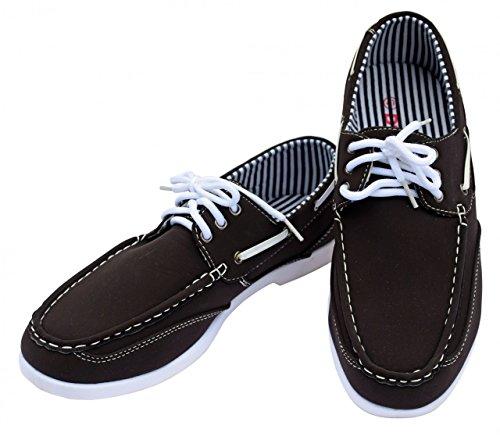 DT NewYork Herren Bootsschuh Budget, Farbe:braun, Größe:40