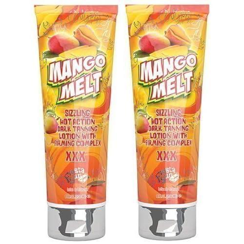 2 X Fiesta Sun Mango Melt 236ml Sunbed Lotion Tanning Cream by PBI