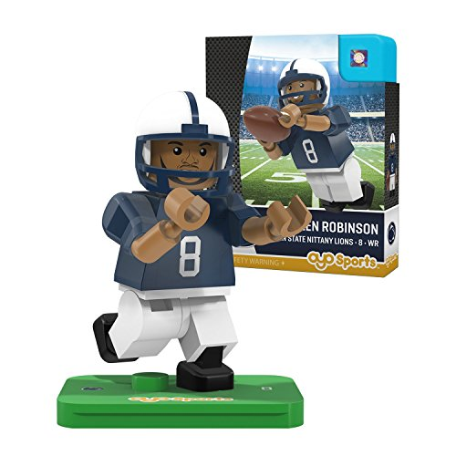 NCAA Penn State Nittany Lions Allen Robinson Gen 2 Player Mini Figure, Small, Black