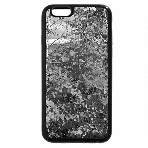 iPhone 6S Plus Case, iPhone 6 Plus Case (Black & White) - autumn #2