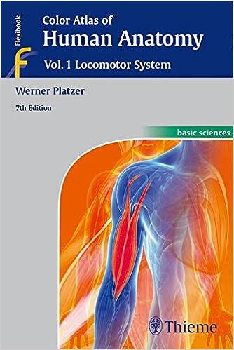 Color Atlas Of Human Anatomy Vol 1 Locomotor System 9783135333076 Medicine Health Science Books Amazon
