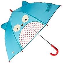 Skip Hop Zoo Little Kid and Toddler Umbrella, Otis Owl