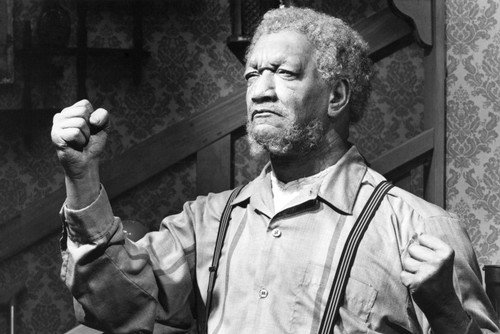Sanford and Son Redd Foxx classic as Fred with fist in air! 24x36 TV Poster from Silverscreen